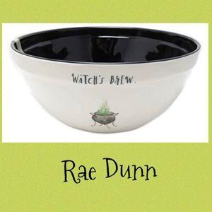 Rae Dunn Witch's Brew Large Melamine Bowl EUC